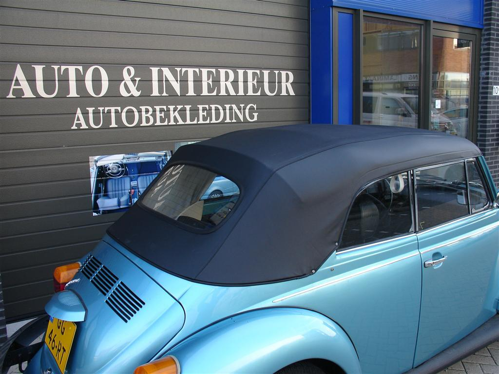 Volkswagen beetle auto interieur for Auto interieur verven