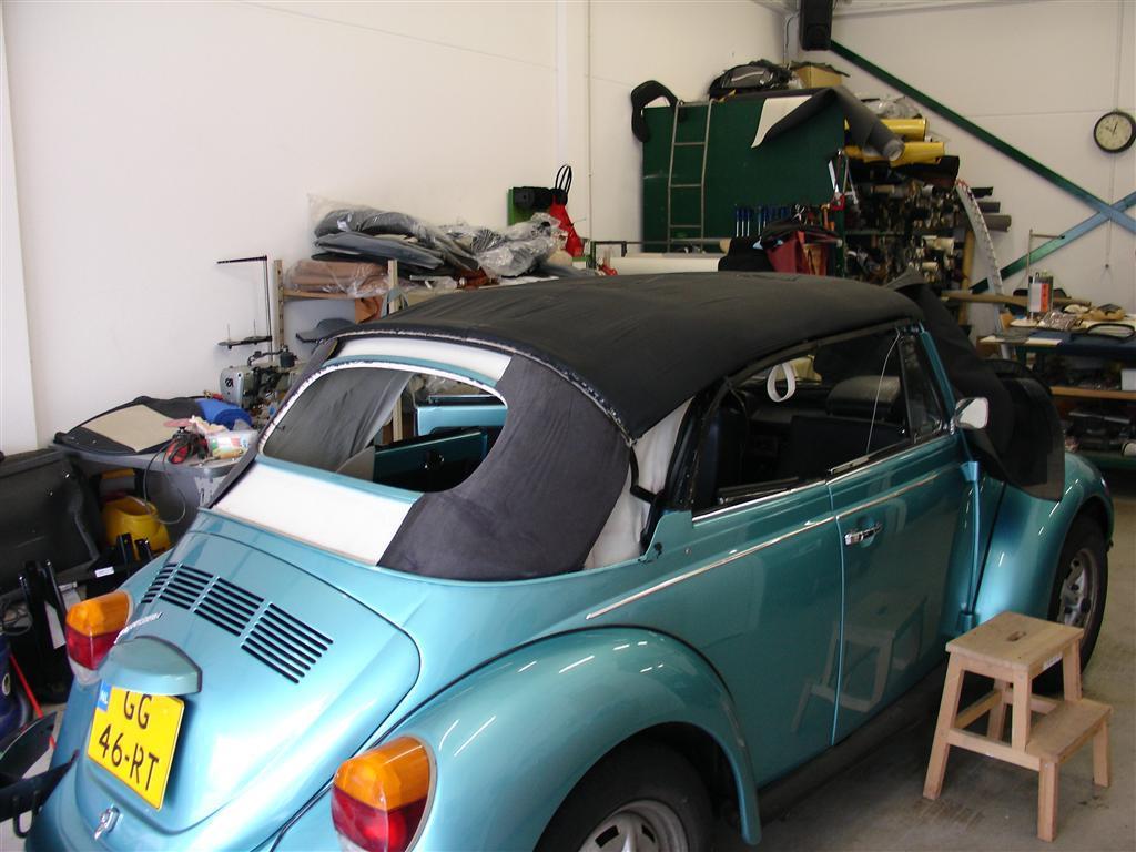Volkswagen beetle auto interieur for Auto interieur reparatie