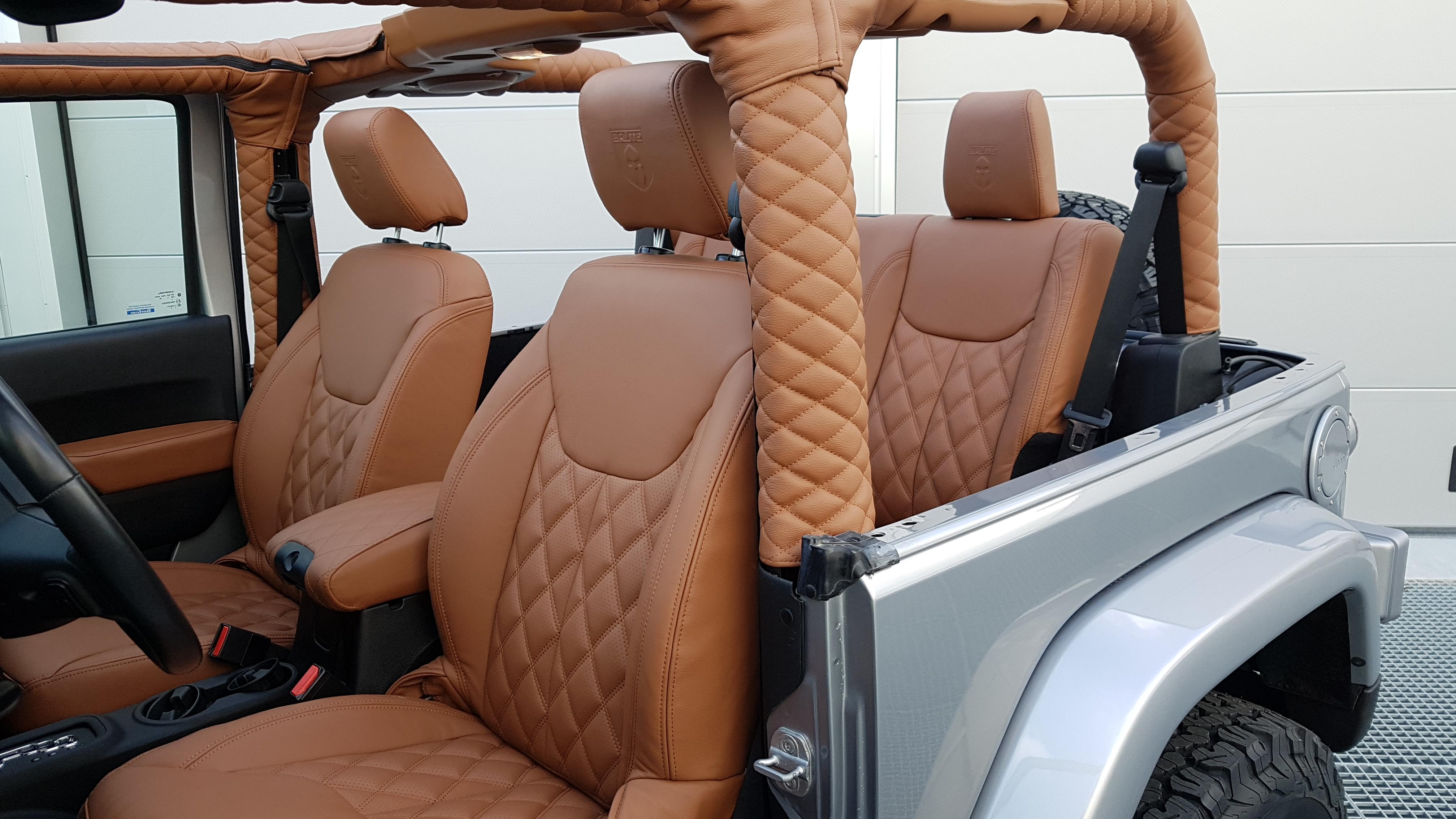 Jeep Wrangler Brute Edition Auto Interieur